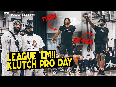 Klutch Pro Day Access: Anthony Edwards, Tyrese Maxey look NBA READY in front of LeBron, AD, Quavo!