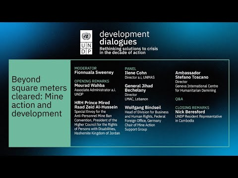 Beyond Square Meters Cleared: Mine Action and Development