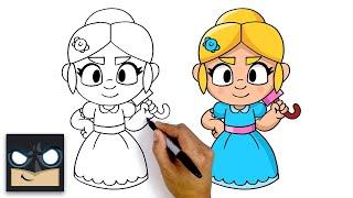 How To Draw Piper | Brawl Stars