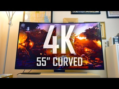 My first 4K Curved Smart TV | Is the Curve worth it?