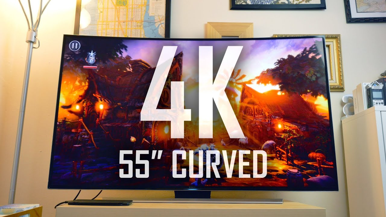 My first 4K Curved Smart TV | Is the Curve worth it? - YouTube