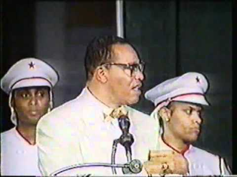 The Honorable Minister Louis Farrakhan - A Nation Can Rise No Higher Than It's Woman