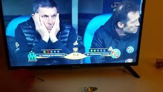 Séance de tire au but om Strasbourg coupe de la ligue