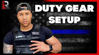 My Gear For Duty As A Police Officer! (Tips & What to expect)
