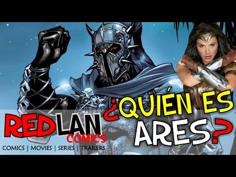 ¿QUIEN ES ARES, EL VILLANO DE WONDER WOMAN? | RedLan Comics