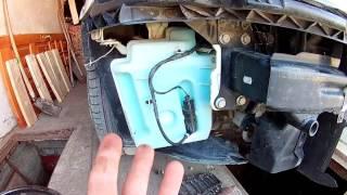 ВидеоДневник Skoda Octavia A5. Улучшение работы омывателя лобового стекла.