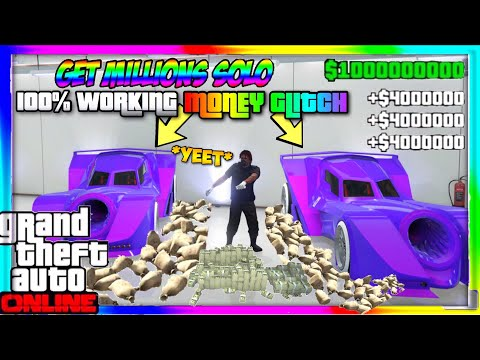 GTA 5 Online: Easy Solo Car Duplication Glitch *$2,000,000+ Every 1 Minute* Money Glitch XBOX & PS4!