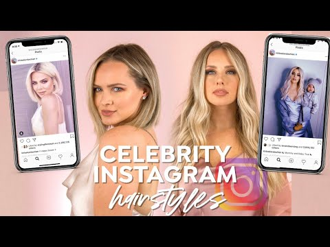 Trying Celebrity's Instagram Hairstyles For a Week - Kayley Melissa thumbnail