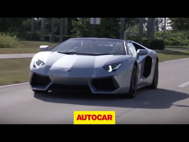 Lamborghini Aventador Roadster Drive Review Autocar Co Uk