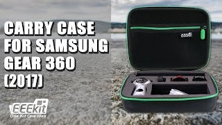 EEEKit Protective Carry Case for Samsung Gear 360 (2017) Review