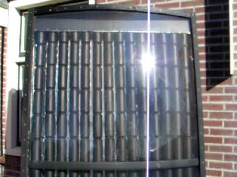 Diy Big Solar Air Heater Mov Youtube