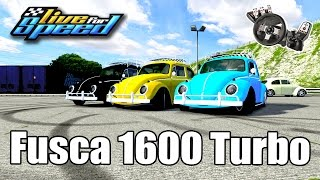 Live For Speed - Rolê de Fusca 1600 Turbo ft. ZoiooGamer (G27)