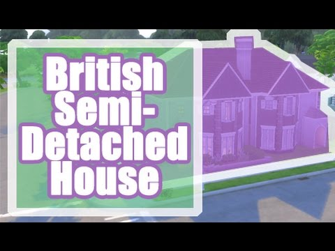 The Sims 4 Speed Build | British Semi-Detached House