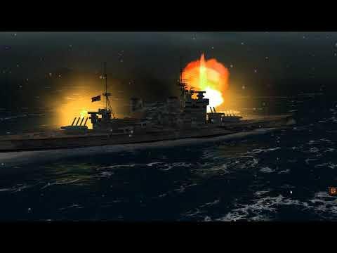 Sinking The Scharnhorst In Bad Weather On Atlantic Fleet