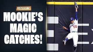 Mookie's Magic NLCS Catches! (Dodgers' Betts with insane grabs throughout NLCS)