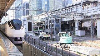 E657系ひたち 東京駅発車
