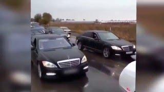 В МВД РК изучают видео с кортежем авто с