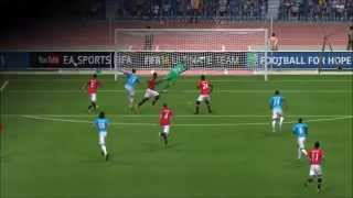 Something random - Hidden FIFA 14 celebration!