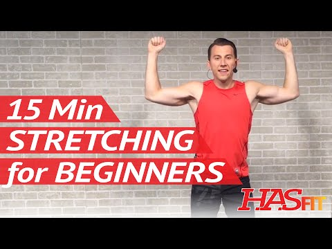 15 Min Static Stretching Exercises for Beginners - Cool Down Exercises after Workout - Stretches