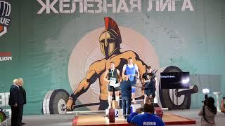 Максим Волков, 1 место. Награждение «Железная Лига Гераклиона-2018»