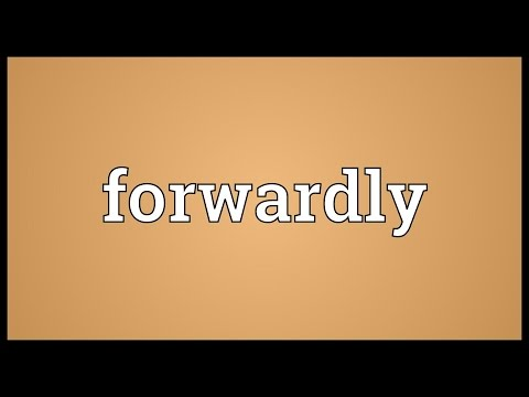 Header of forwardly
