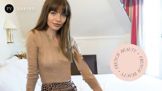 French hairstyle tutorial: How to style your bangs | Mara Lafontan | Parisian Vibe