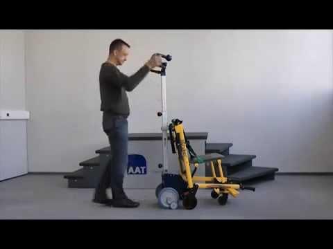 pr sentation du monte escalier smax adapt sur chaise