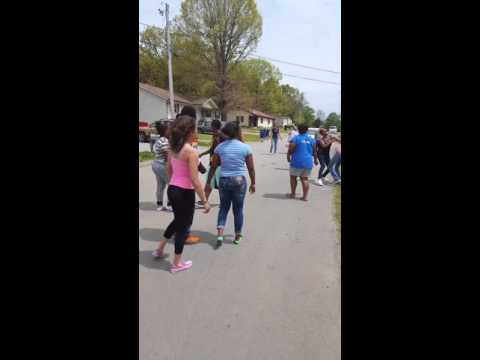 Shelbyville Tennessee Street Fight