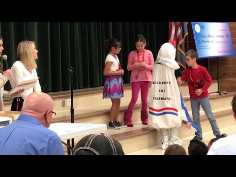 Rolling Meadows Elementary School 2nd & 3rd grade blink day