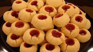 biscoito amanteigado com goiabada🍪