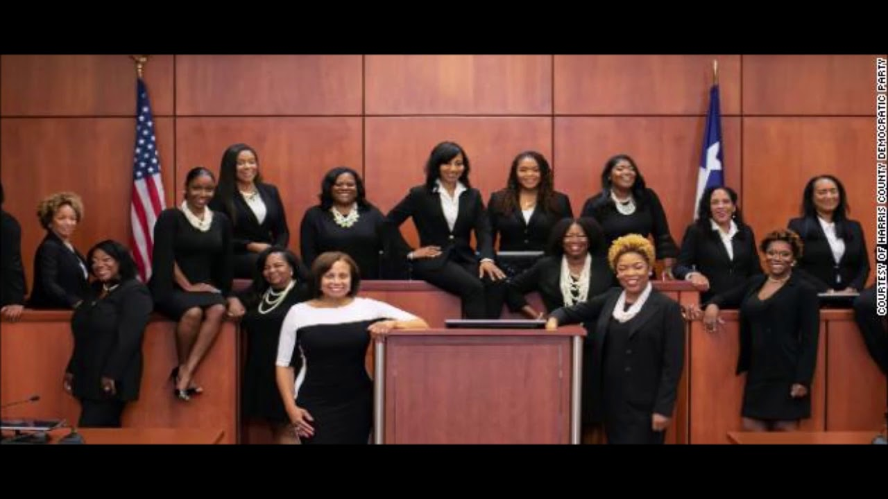 Largest Group Of Black Female Judges Ever Elected At One TIme