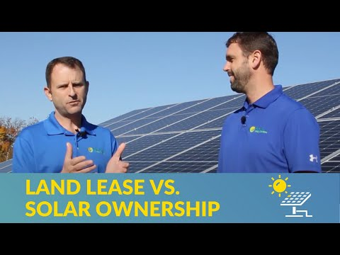 What you should know about leasing your land to a solar developer