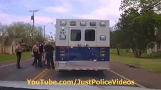 Police Chase Stolen Ambulance - 100MPH CHASE