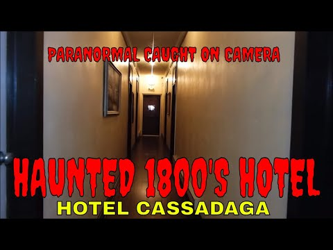 haunted cassadaga hotel paranormal activity caught on camera - Cassadaga Halloween