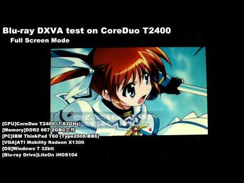 Blu-ray Test On CoreDuo T2400 - FullScreen Mode