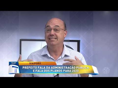 Prefeito de Ivaiporã fala sobre administração pública - Tribuna da Massa (10/01/20)