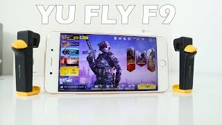 yU FLY F9 PUBG & Call Of Duty Mobile Gaming Test