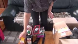 Подарки от родных, из Германии в Канаду. 2016-2017.