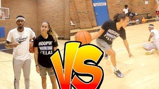 EXHAUSTING 1V1  VS  BRIANA GREEN!