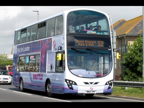 OLYMPIC BUSES FIRST GROUP WEYMOUTH AUGUST 2012
