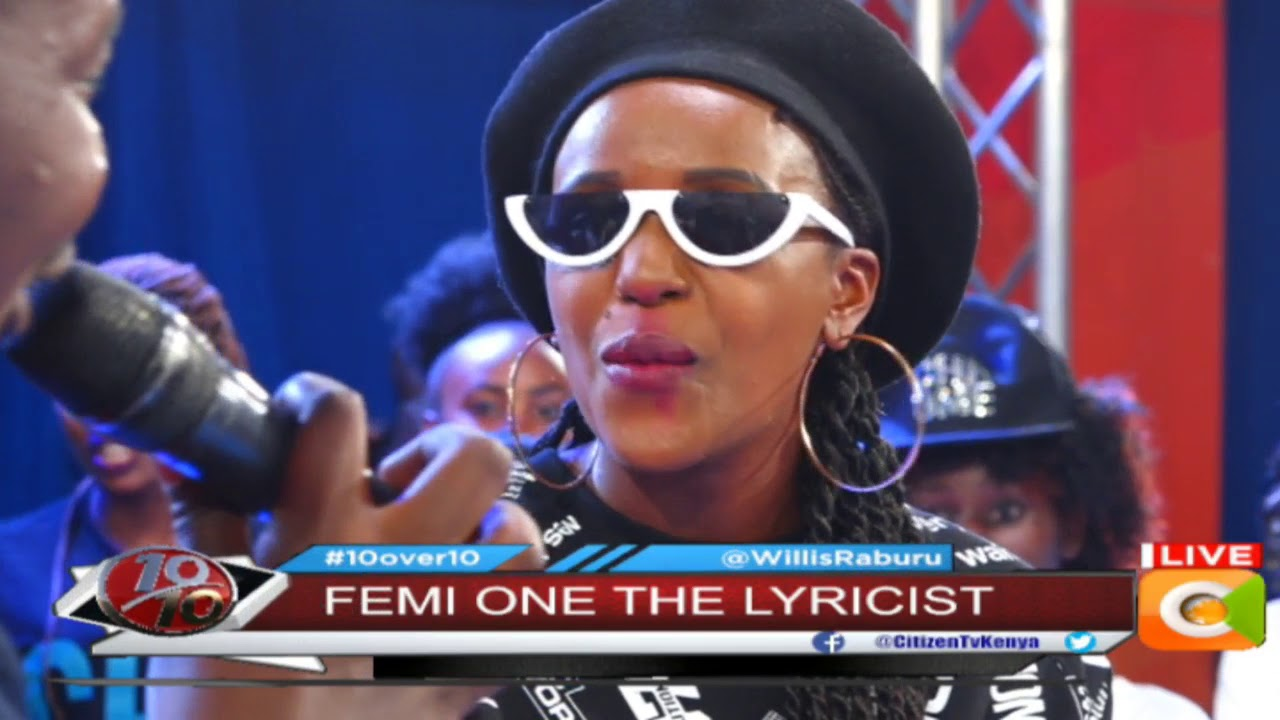 Femi One: There is nothing wrong with someone writing my songs #10Over10