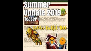Tibia Summer Update 2019 Teaser Golden Outfit 1kkk