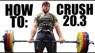 CrossFit® Open Workout 20.3 - Tips