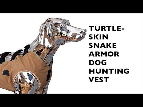 TurtleSkin, SnakeArmor Dog Hunting Vest