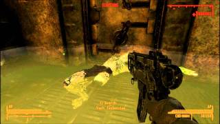 Fallout New Vegas Hard Luck Blues part 5 of 6 Overseer Section and Reactor