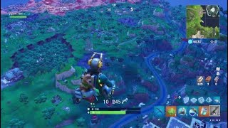 J crossed the map of fortnite in 15 seconds