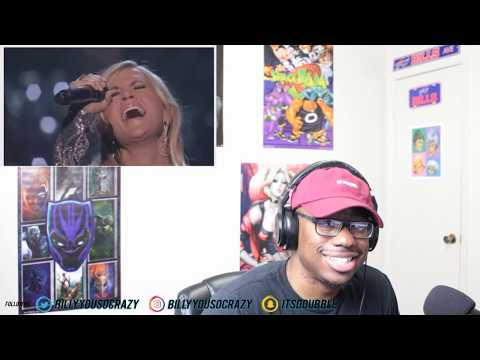 Carrie Underwood - How Great Thou Art Ft Vince Gill REACTION! SOOO AMAZING