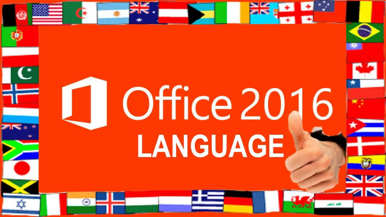 microsoft office 2016 language packs download all languages youtube. Black Bedroom Furniture Sets. Home Design Ideas