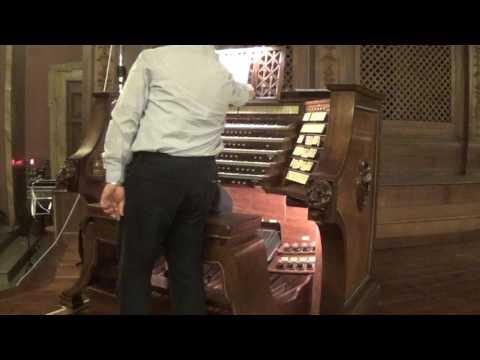C.M. Widor (1844-1937) From V Symphony Op. 42 n. 1: Allegro Vivace