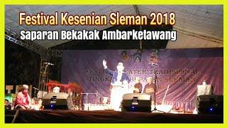 cerita asal mula bekakak ambar ketawang festival kesenian sleman 2018